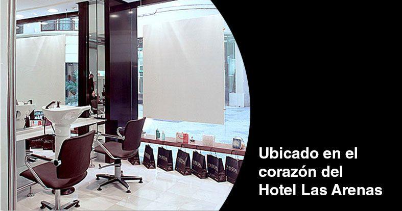 Promoción en el local del Hotel Las Arenas de Peluquerías Pascual