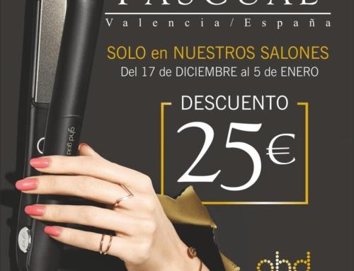 Promoción ghd y Peluquerías Pascual