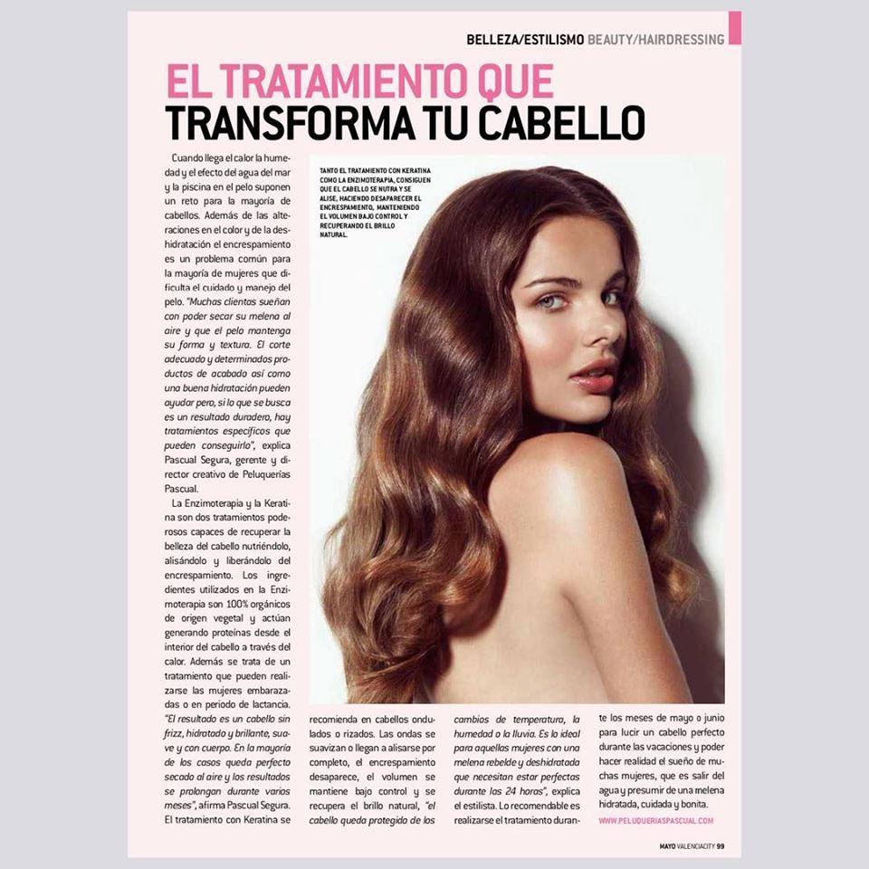 ENZYMOTERAPIA El tratamiento que trasnforma tu cabello