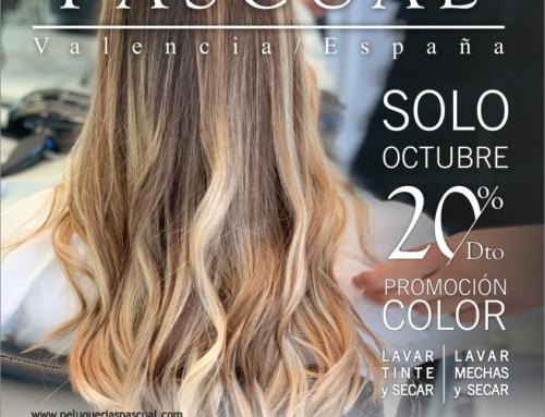 Promoción de color de octubre